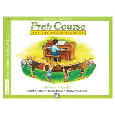 Alfred's Basic Prep Course For The Young Beginner Solo Book Level C