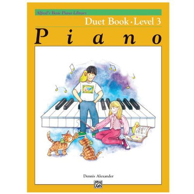 Alfred's Basic Piano Duet Book Level 3