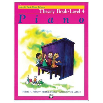 Alfred's Basic Piano Theory Book Level 4