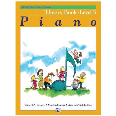 Alfred's Basic Piano Theory Book Level 3