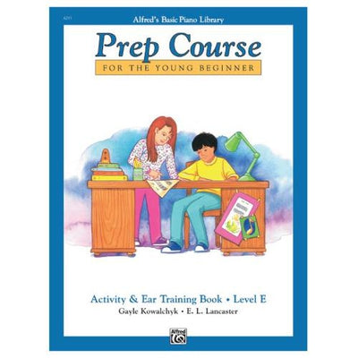 Alfred's Prep Course Activity and Ear Training Book Level E