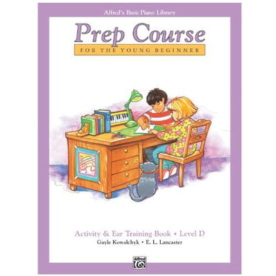 Alfred's Prep Course Activity and Ear Training Book Level D