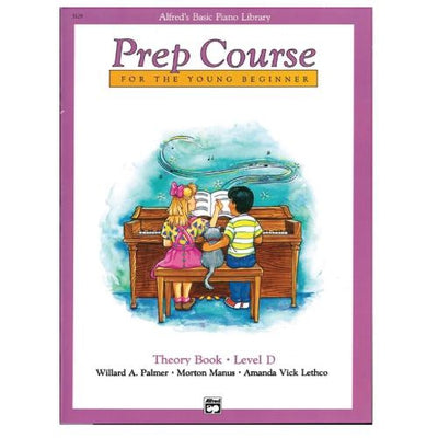 Alfred's Prep Course Theory Book Level D