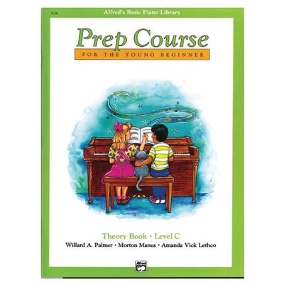 Alfred's Basic Piano Prep Course Theory Book Level C
