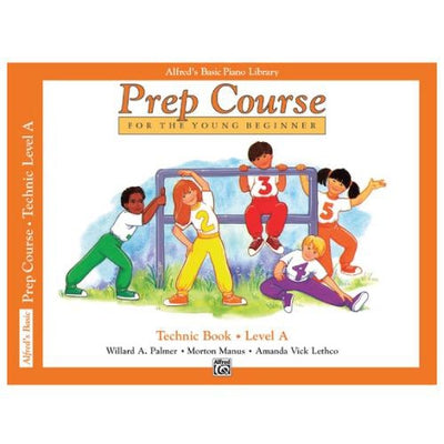 Alfred's Basic Prep Technic Book Level A