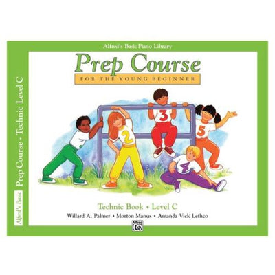 Alfred's Prep Course Technic Book Level C