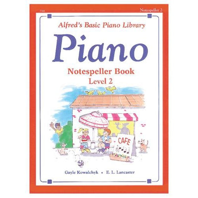 Alfred's Basic Piano Notespeller Book Level 2