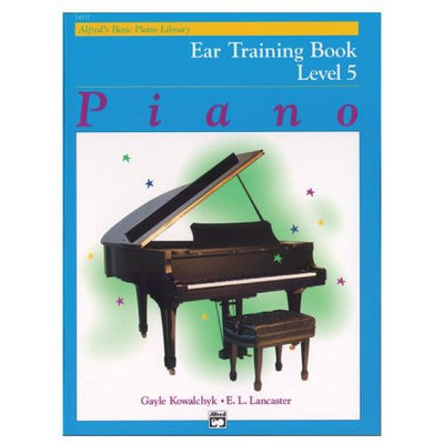 Alfred's Basic Piano Ear Training Book Level 5