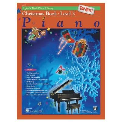 Alfred's Basic Piano Top Hits Christmas Complete Level 2