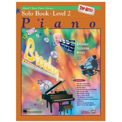 Alfred's Basic Piano Top Hits Solo Book Level 2