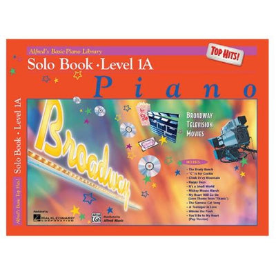Alfred's Basic Piano Top Hits! Solo Book Level 1A