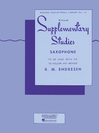 Supplementary Studies/saxophone/ST