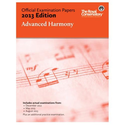 2013 RCM Advanced Harmony Test Papers