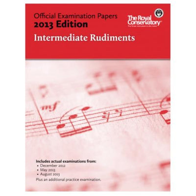 2013 RCM Intermediate Rudiments Test Papers