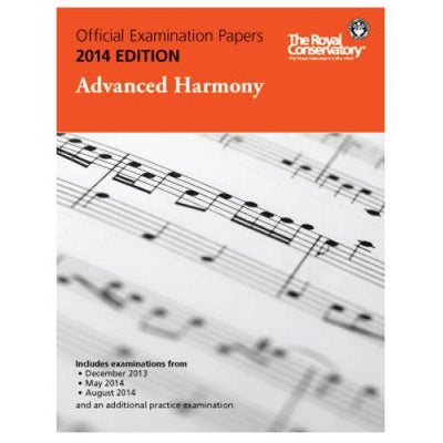 2014 RCM Advanced Harmony Test Papers