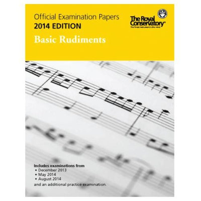 2014 RCM Basic Rudiments Test Papers