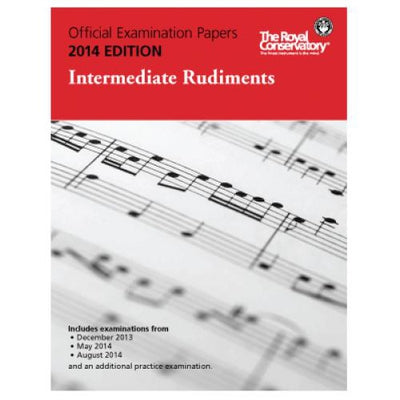 2014 RCM Intermediate Rudiments Test Papers