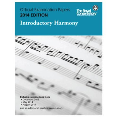 2014 RCM Introductory Harmony Test Papers