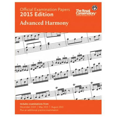 2015 RCM Advanced Harmony Exam Papers