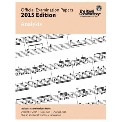 2015 RCM Analysis Exam Papers