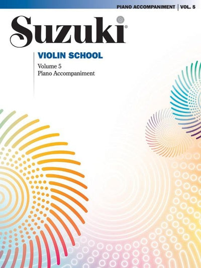 Suzuki: Violin School Piano Accompaniment Volume 5