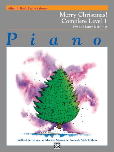 Alfred's Basic Piano Library: Merry Christmas! Complete Book 1