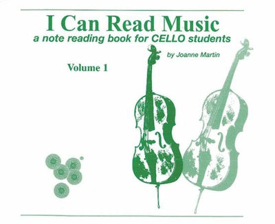 I Can Read Music - Cello Vol. 1