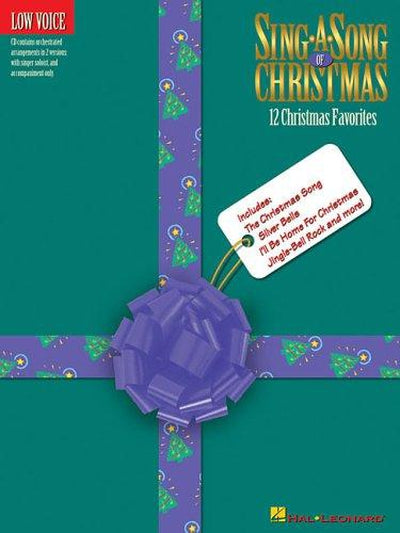Sing a Song of Christmas - Low Voice with CD