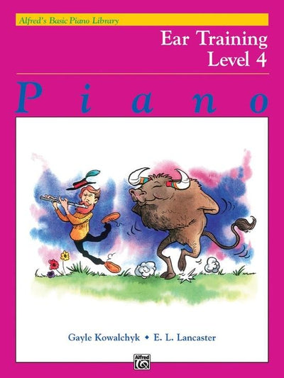 Alfred's Basic Piano Library Ear Training Book Level 4
