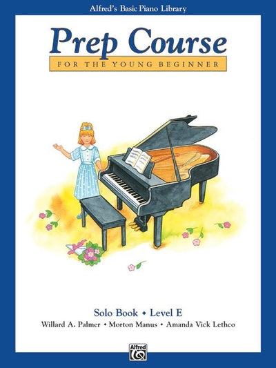 Alfred's Basic Piano Prep Course Solo Book E