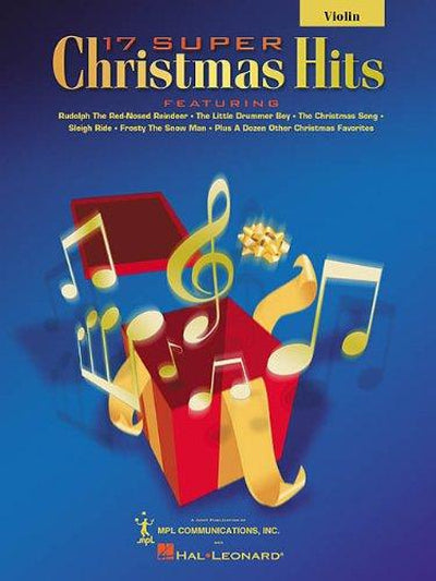17 Super Christmas Hits For Violin with CD