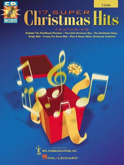 17 Super Christmas Hits For Viola with CD