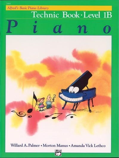 Alfred's Basic Piano Technic Book Level 2