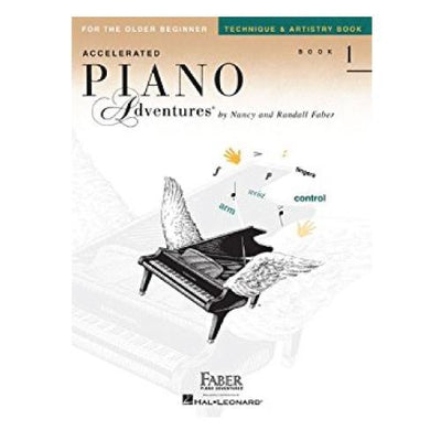 Accelerated Piano Adventures For The Older Beginner Performance Book Level 1