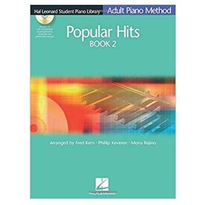 Adult Piano Method Popular Hits Book 2