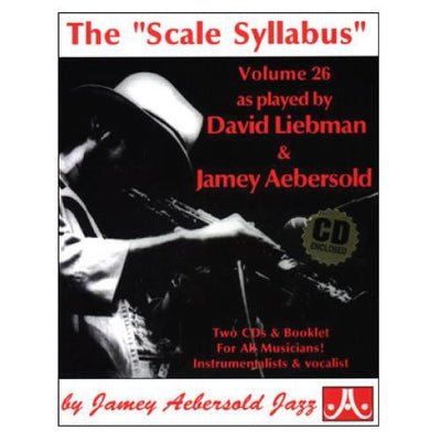 "Jamey Aebersold Jazz, Volume 26: The ""Scale Syllabus"" with 2 CDs"