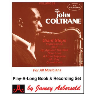 Jamey Aebersold Jazz, Volume 28: John Coltrane with CD