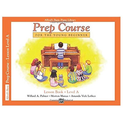Alfred's Prep Course Lesson Book Level A