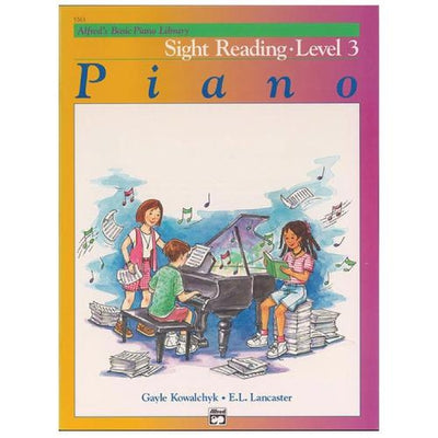 Alfred's Basic Piano Sight Reading Level 3