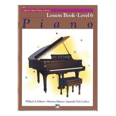 Alfred's Basic Piano Lesson Book 6