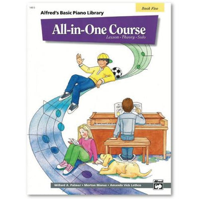 Alfred's All in One Basics Book 5