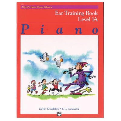 Alfred's Basic Piano Ear Training Book Level 1A