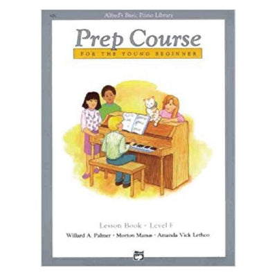 Alfred's Basic Piano Prep Course Lesson Book F
