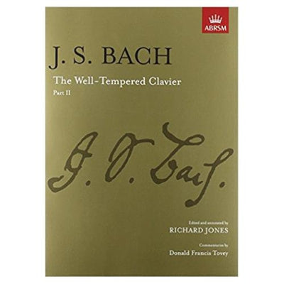 J.S. Bach: The Well Tempered Clavier Part 2