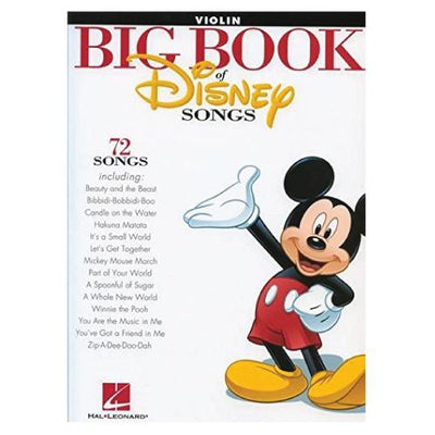Big Book of Disney Songs Violin