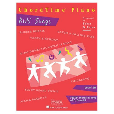 Chordtime Piano Kid's Songs Level 2B