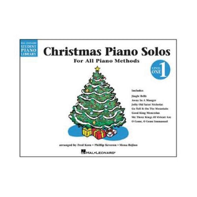 Christmas Piano Solos For All Piano Methods Level 1