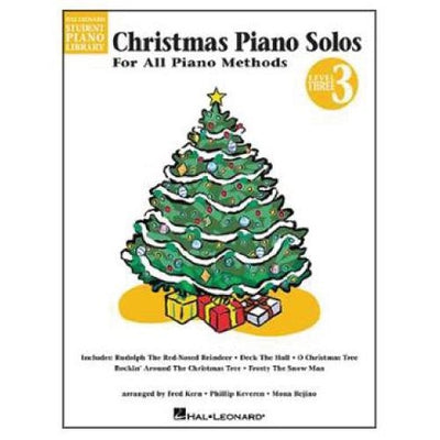 Christmas Piano Solos For All Piano Methods Level 3