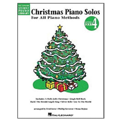 Christmas Piano Solos For All Piano Methods Level 4