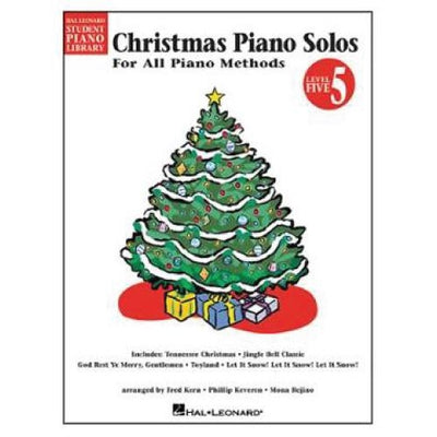 Christmas Piano Solos For All Piano Methods Level 5